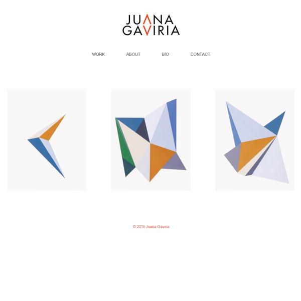 Web Juana Gaviria
