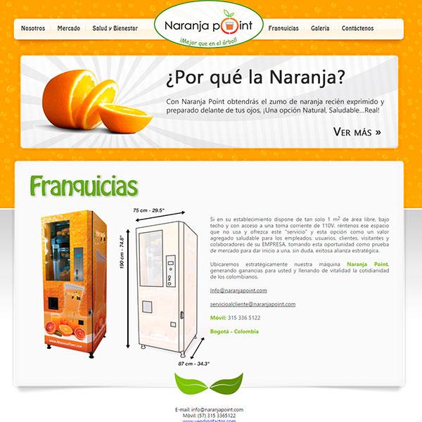Web Naranja Point